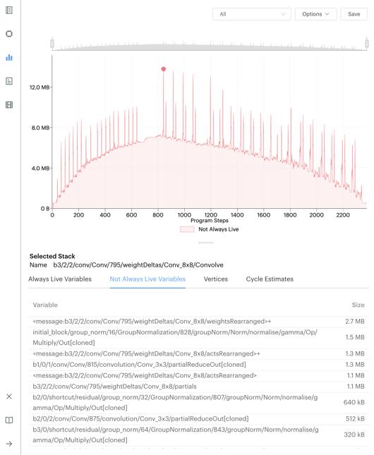 Liveness Report_PopVision_Graphcore