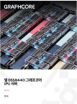 델 DSS8440 그래프코어 IPU 서버