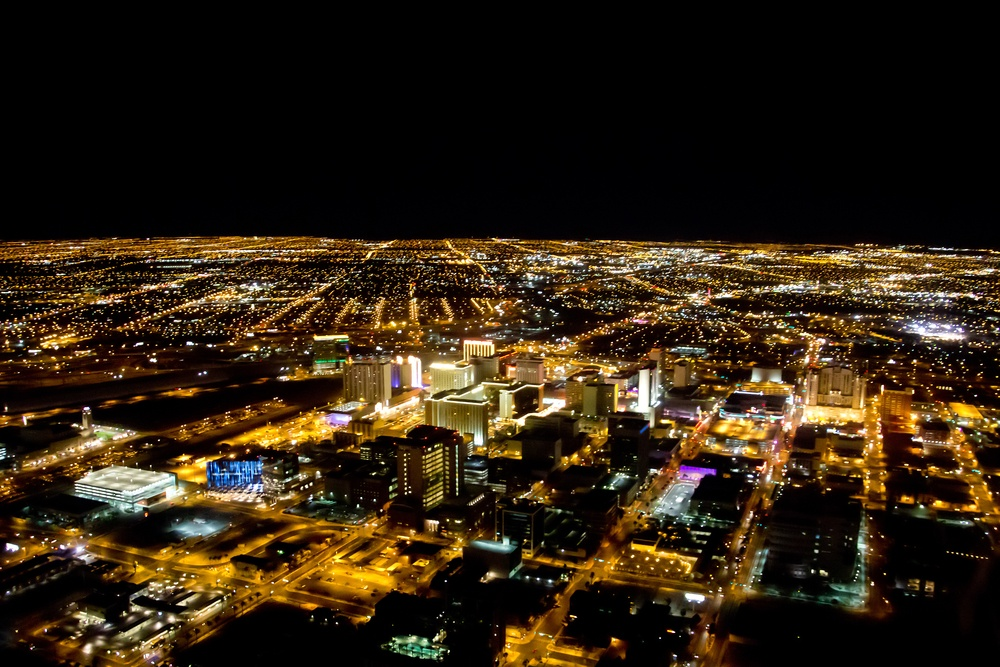 Las Vegas city viewed at night with all the lights on.jpeg