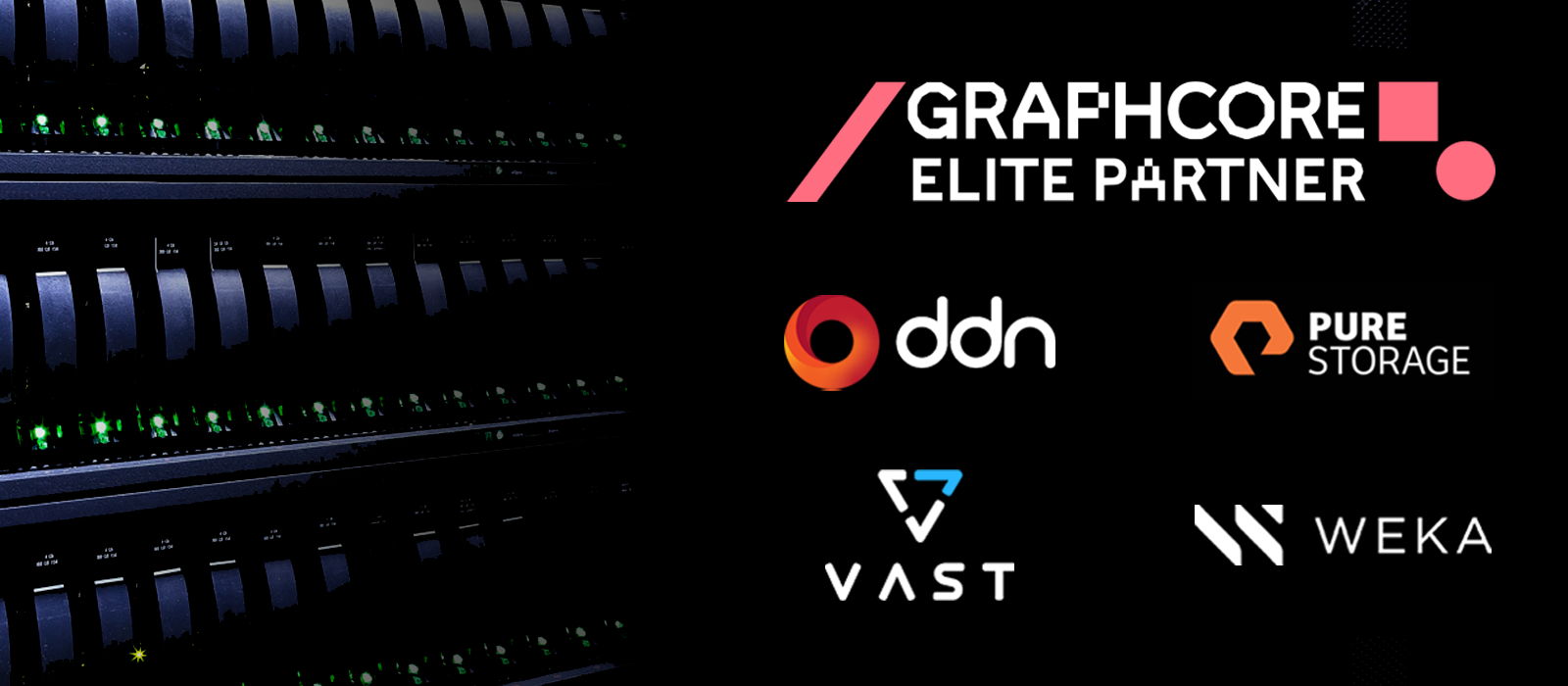 Graphcore adds leading storage providers to Elite Partner Program